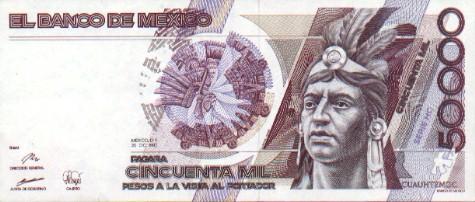 50000 pesos