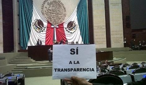 Si a la transparencia