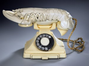Lobster Telephone in White
