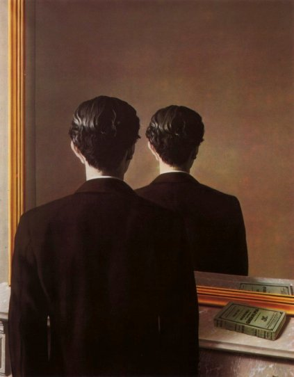 Not To Be Reproduced (1937) - René Magritte