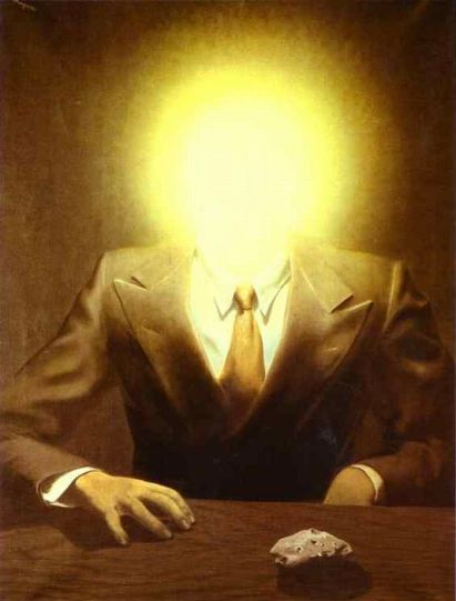 The Pleasure Principle: Portrait Of Edward James (1937) - René Magritte