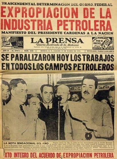 La Prensa 19 de Marzo de 1938