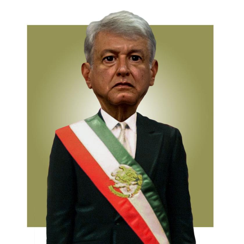 AMLO Banda Presidencial